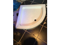 stone shower tray 900mm x 900mm