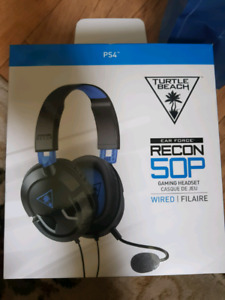 PS4 / Xbox One-Turtle Beach - Ear Force Recon 50P Stereo Headset