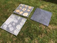Blue/Grey Ceramic tiles