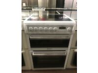 60CM WHITE HOTPOINT ELECTRIC COOKER