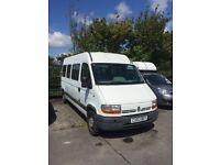 Bargain campervan project Renault master mini bus van LWB 54000miles!!! 120bhp