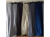 Assorted mens trousers 40in waist 29in leg excellent condition