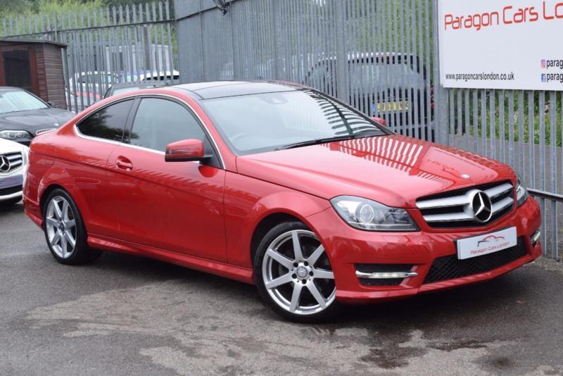 2014 Mercedes-Benz C Class C250 Coupe 2.1CDi 204 SS AMG Sport Edition Premium Pl