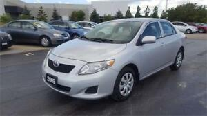 2009 Toyota Corolla CE, Accident Free, One Owner, Certified