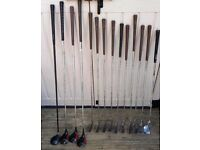 DIAWA TRYPOWER IRON CLUB SET – PING EYE 2 & TAYLORMADE 3000 SERIES DRIVERS - PROTOUR SERIES PUTTER
