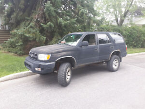 1999 Toyota 4Runner  2500 negotiable
