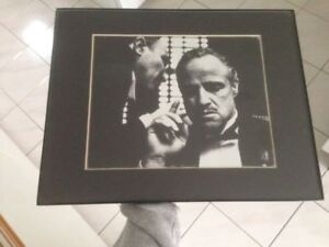 Godfather framed picture - Like new !