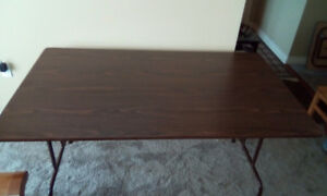 Folding Table - 3 ft x 5 ft. Excellent Condition