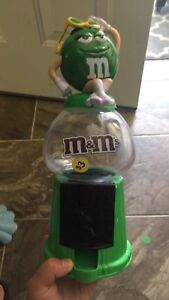 M&Ms candy dispenser