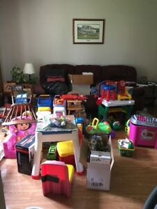 YARD SALE!!! Toys-household items-tires -- some'n for everyone