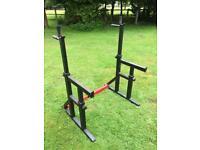 Weight rack / dip stand