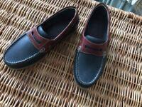 Men's Leather Deck Shoes