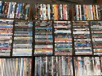 2000 x Dvd's - various titles - some duplicates - all original in cases - region 2