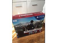 PS4 SLIM 500GB MINT CONDITION + 4 GAMES