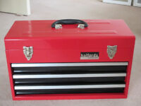 Halfords Professional 3 Drawer Toolbox- good as new!