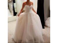 Wedding dress- 6 bridesmaid dresses (unworn)