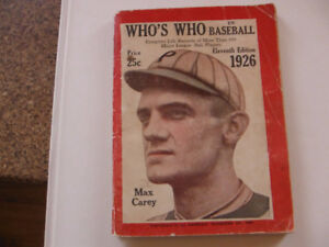 Who's Who in Baseball 1926