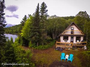 Lac Ste-Rose, Lanaudière, Chalet à louer