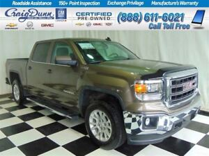 2015 GMC Sierra 1500 SLE Crew 4x4 * Z71 * Heated Seats* 1 Owner