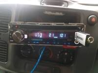 Kenwood built-in DAB car radio