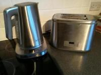 AEG kettle and toaster