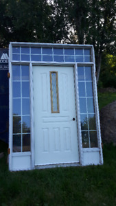ENTRANCE DOOR ASSEMBLY & BAY WINDOWS - NEW!!!!