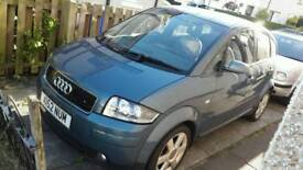 Audi a2 1.4 for sale very low miles 12 month mot not audi a3 a4 a5 a7 golf tdi tfsi petrol