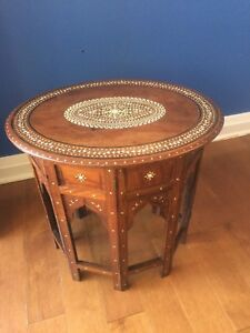 Antique Anglo Indian Table (1910)