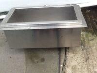 Thermal sink metel