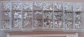 2500 Charms & Beads, Alphabet & Zodiac, Large Clearance Bundle, Crafts Jewellery Making
