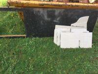 Free Laminate kitchen worktop and floor tiles
