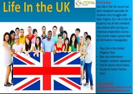 LIMITED SPACES LEFT - LIFE IN THE UK CLASS/TEST COURSE - SECURE YOUR ADMISSION NOW!