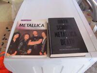 METALLICA BOOKS
