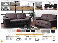 Amy 3+2 and corner sofa suite L