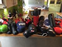 Kick boxing equipment