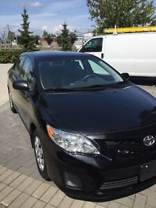 One owner 2012 Toyota Corolla dealer maintained