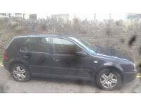 Volkswagen GOLF, MOT/D spares or repairs. £150