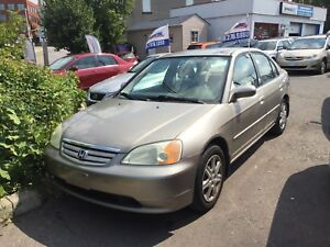 2003 Honda Civic Auto,A/C  power window Certified