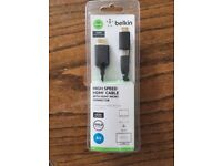 brand new HighSPEED Belkin HDMI cable with HDMI Micro Connector, 2 in 1, tablet, laptop