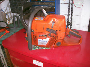 """Walkerized"" Husqvarna 385XP chainsaw SN 014800021"