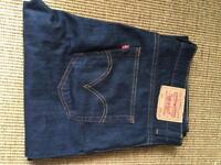 Levis 752 Jeans 36w 34l