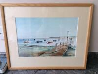 Felixstowe Ferry original water colour