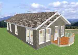$ 98,900 NEWLY CONSTRUCTED HOME OR COTTAGE ON YOUR LOT
