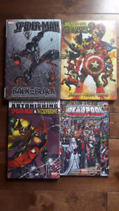 4 Marvel Comic Books