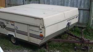 Tent trailer for sale need gone