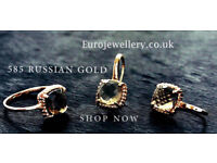 585 Russian 14ct Rose Gold Earrings,Rings,Chains,Bracelets. Best 14ct Gold Price