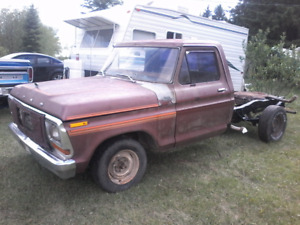 1979 ford 1/2 ton with 300 straight 6 project