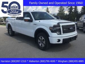 2013 Ford F-150 FX4 | Hard Painted Tonneau Cover