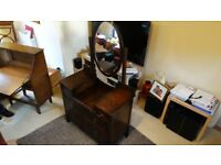 Dressing table with 1925 pencil mark pos older.
