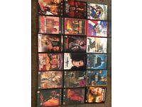 Action/adventure dvds joblot x 18